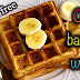 Oats banana waffles/Gluten free waffles