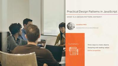 best Pluralsight course for JavaScript design patterns