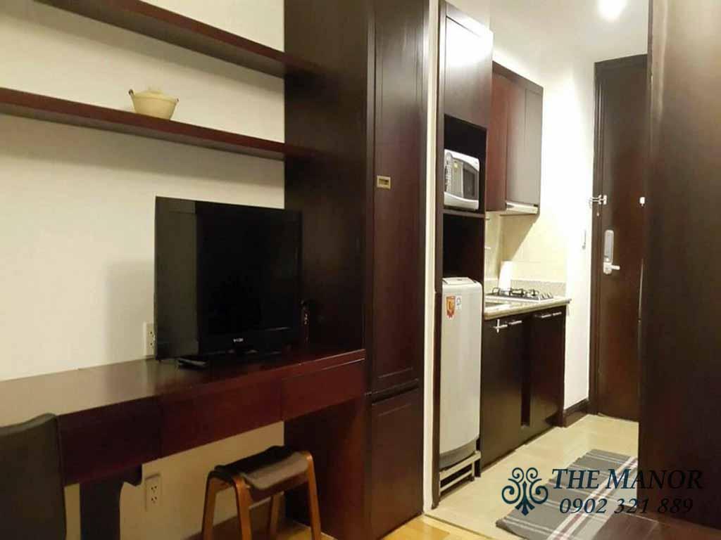 Căn hộ cho thuê studio giá rẻ quận Bình Thạnh The Manor 2 - hinh 2