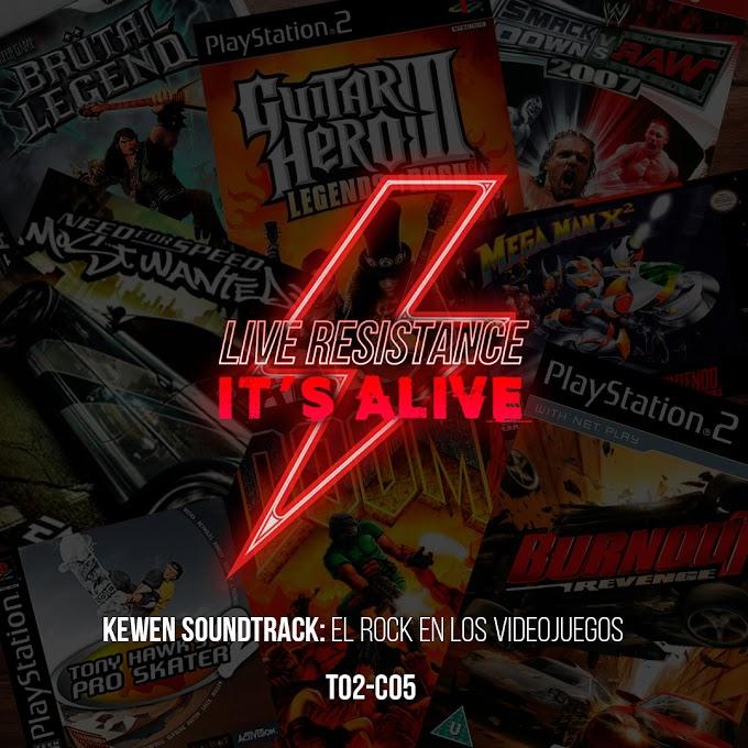 """T02 - C05  """"Kewen soundtrack: rock en videojuegos"""""""