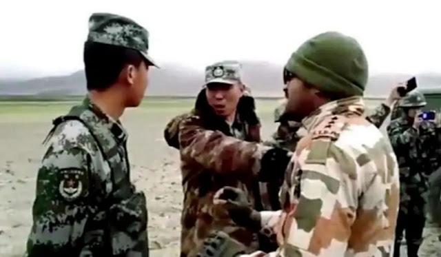 भारत और चीन के सैनिकों के बीच फिर हुई झड़प, पैंगोंग त्सो झील के किनारे हुई घटना