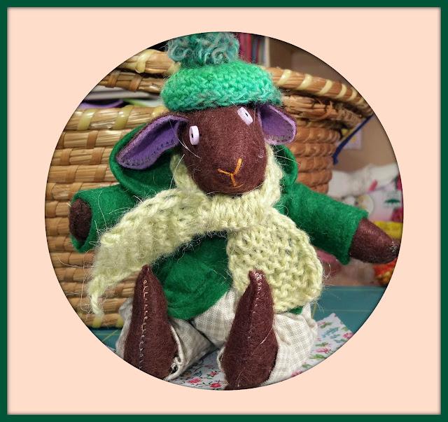 scarf, écharpe, woollie hat, bonnet de laine, feutrine, felt