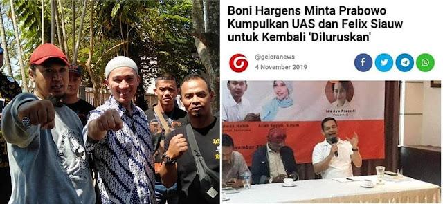 Ustadz Felix Siauw Komentari Boni Hargens