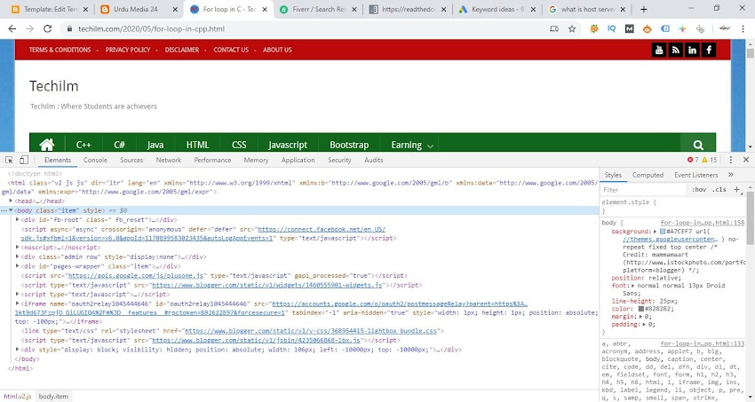 Introduction to website design, domain name, URL parts, Web hosting server
