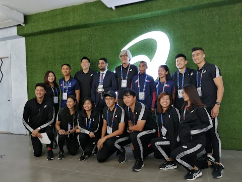The Latest Autumn Winter 2019 Collection Showcased at the Opening of the ASICS House in New Clark City Athlete's Village