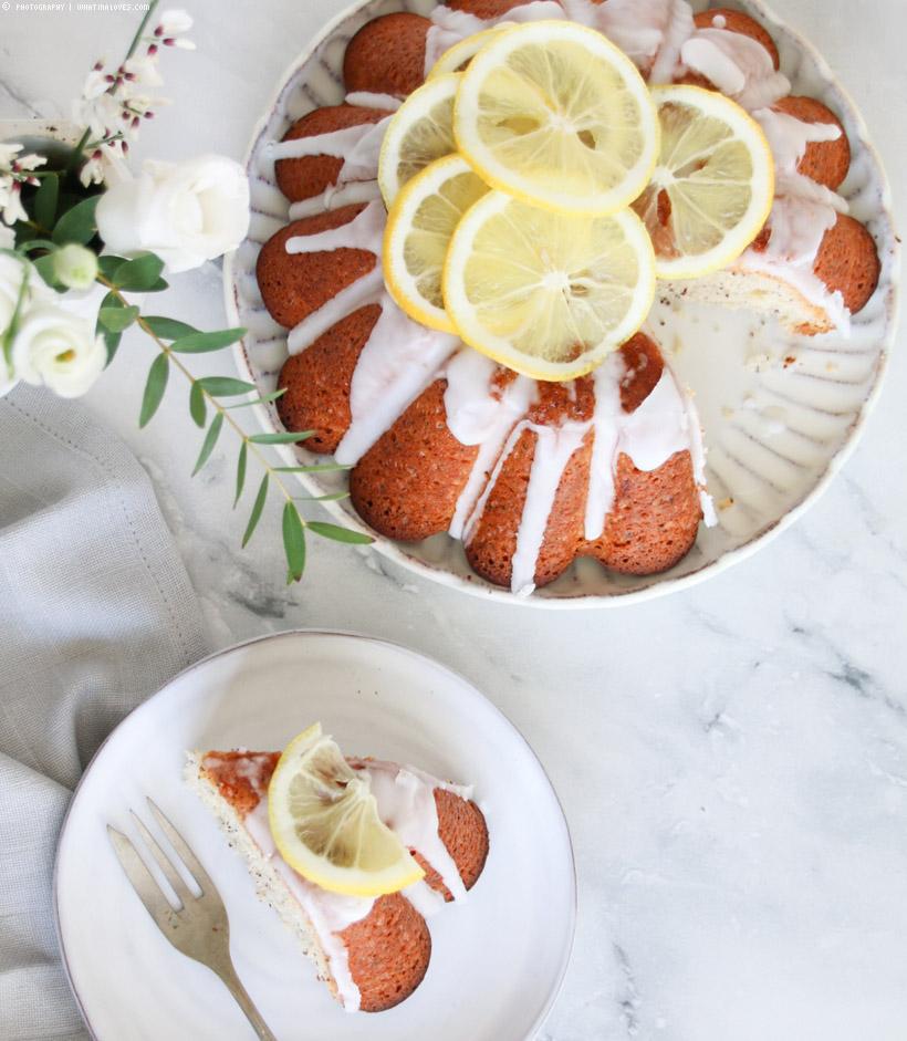 Zitronen-Mohn-Kuchen