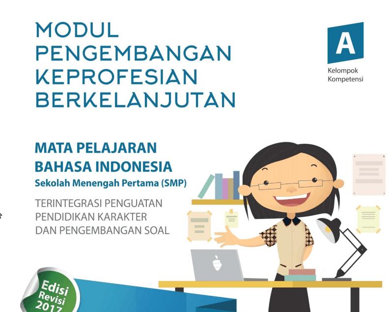 Modul PKB Bahasa Indonesia SMP Revisi Tahun 2017