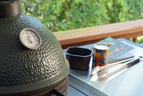 I used my Large Big Green Egg in the BGE Modular Nest