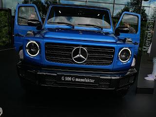 Mercedes G500 G manifactur