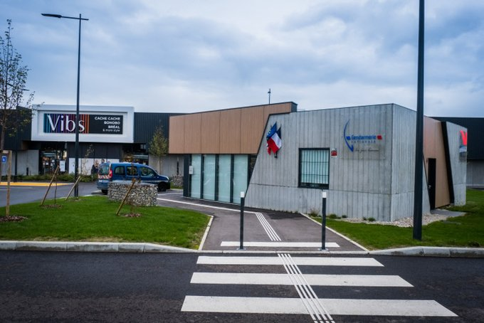 La première «Gendarmerie Drive» de France est un succès, le concept pourrait être étendu