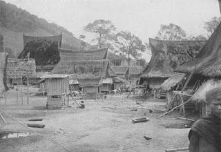 Gambar 2: Kampung Panribuan di Kecamatan Dolog Silou tahun 1917