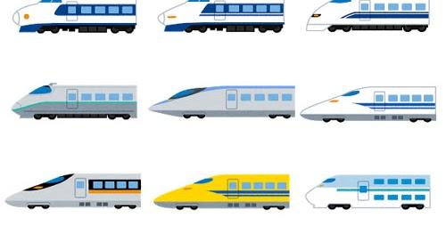 いろいろな新幹線のイラスト かわいいフリー素材集 いらすとや