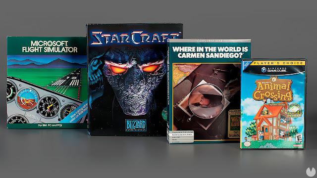 Se suman al Salón de la Fama cuatro nuevos juegos a su colección !
