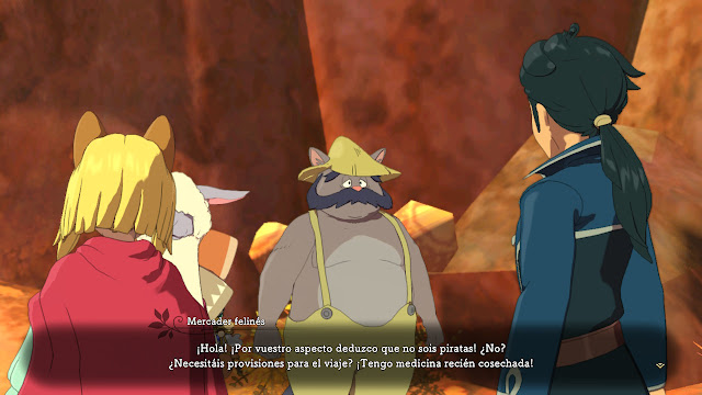 Ni No Kuni II: El Renacer de un Reino Prince´s Edition - Conversación