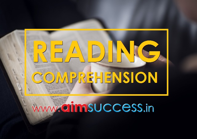 Reading Comprehension for IBPS PO/RRB Mains 2018: 27 Aug