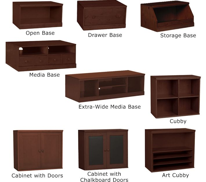 Pottery Barn Kids Cameron Storage System Decor Look Alikes