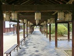 京都:萬福寺廻廊