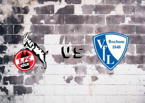 Colonia vs Bochum  Resumen
