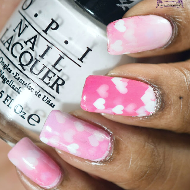 Lady Queen Love Hearts Water Decals