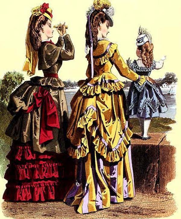 Голландские старинные женские платья 15 века