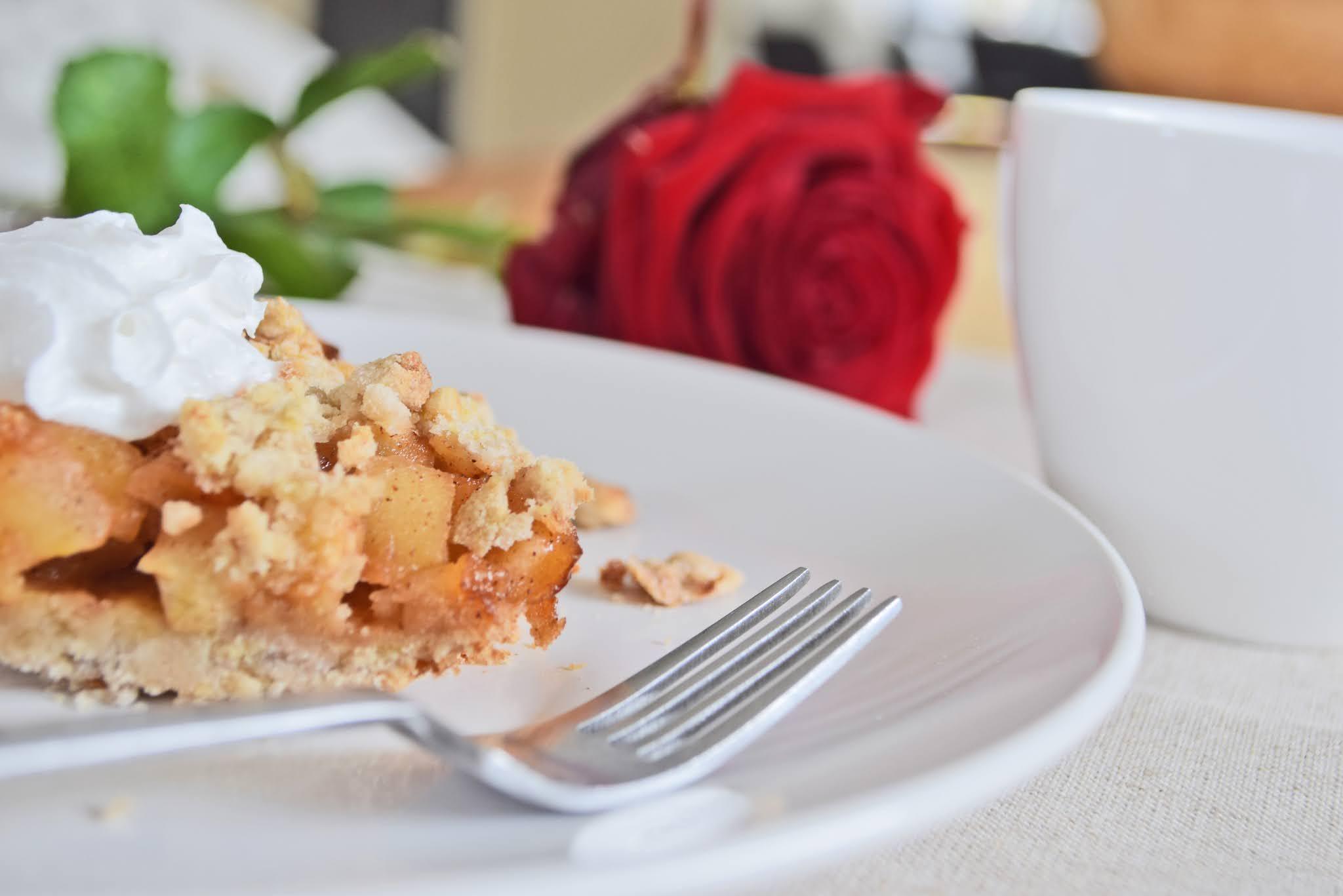 Bezglutenowa tarta z jabłkami