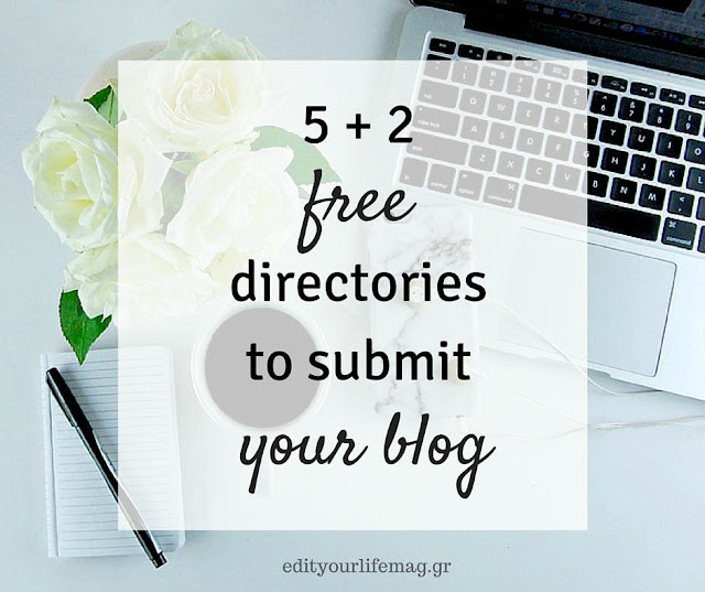 5 + 2 free directories to submit your blog