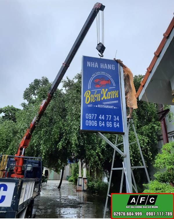 Làm bảng hiệu hộp đèn tại Phú Quốc