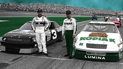Ken Schrader #25 Racing Champions 1/64 NASCAR diecast blog Rick Hendrick Dale Earnhardt