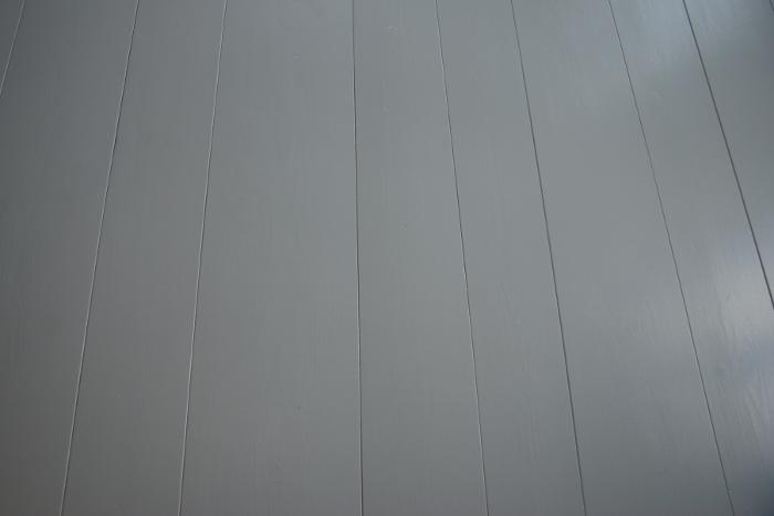 Vaniljan valkoista Makuuhuoneen lattia maalattu