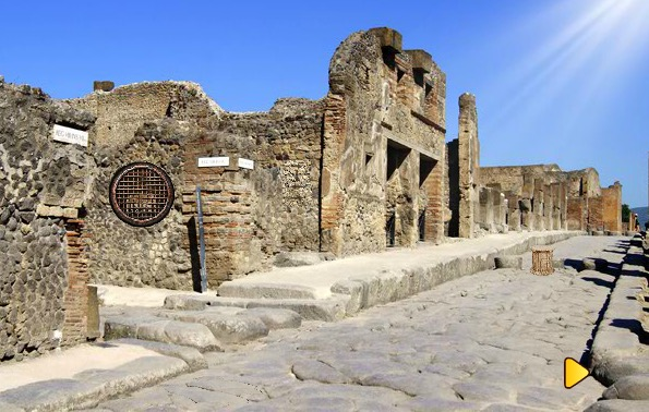 Ancient City Pompeii Esca…