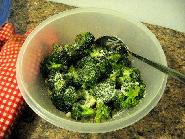 Roasted Broccoli and Garlic