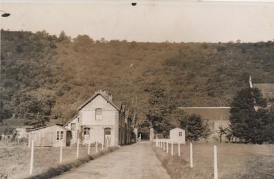 Filature Levavasseur sur l'Andelle - Fontaine-Guérard - L'entrée de la filature côté Douville