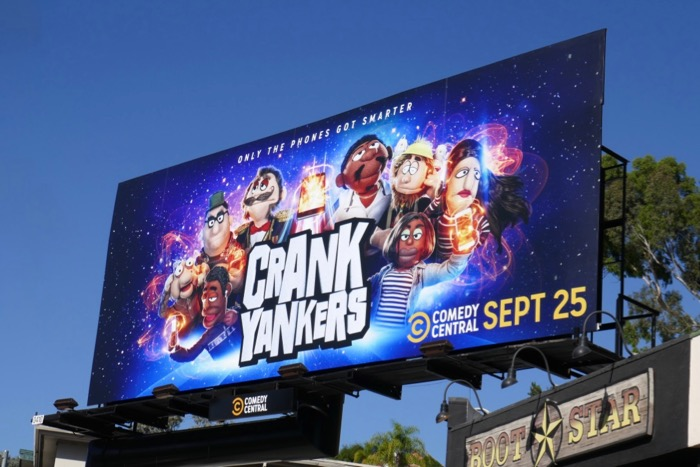 Crank Yankers series revival billboard
