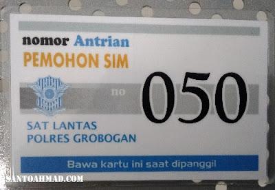 Perpanjang SIM Grobogan