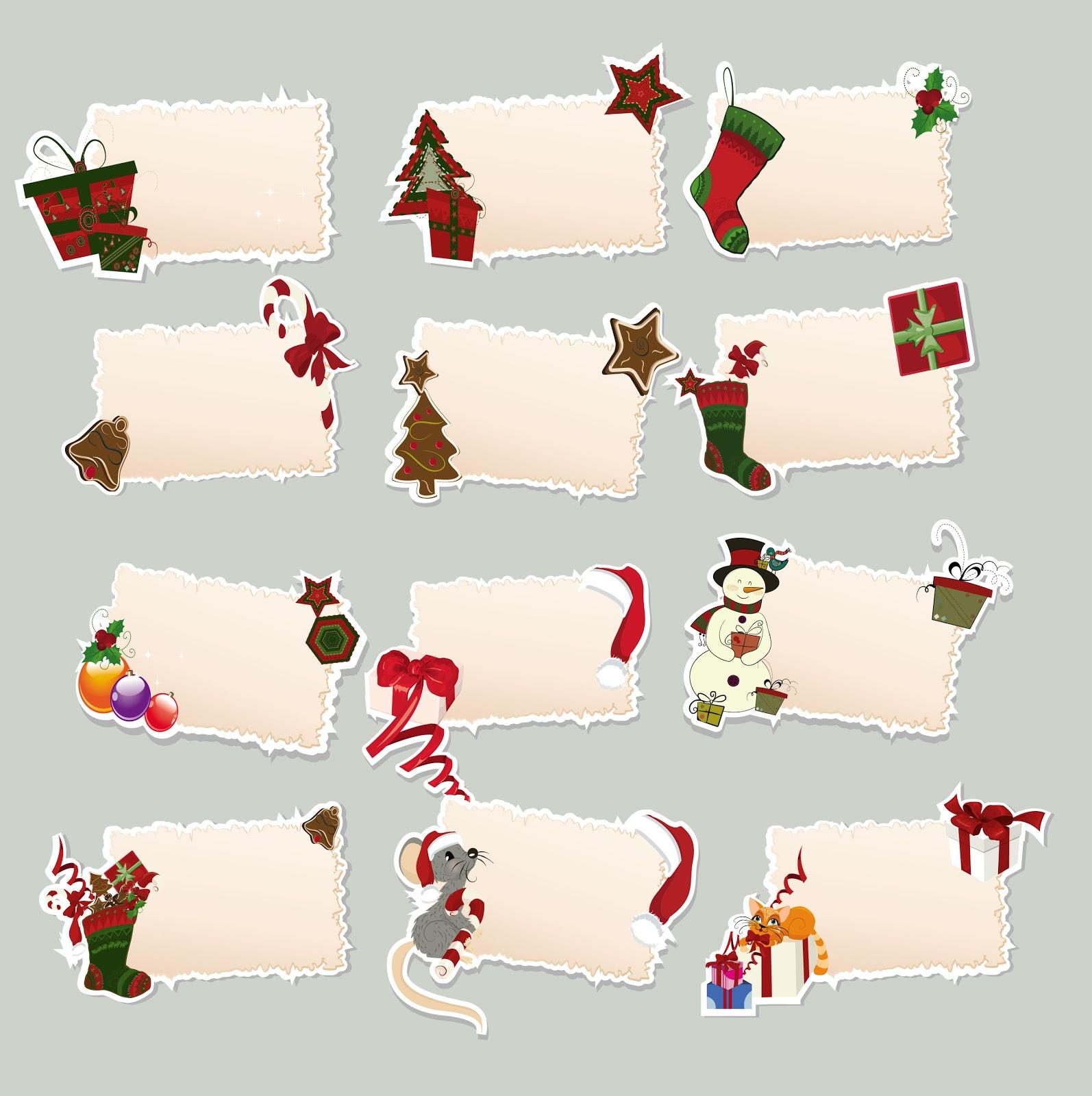 Biglietti Per Regali Di Natale Da Stampare.Facciamo Festa Insieme Si Avvicina Il Natale