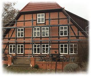Baustelle im Landhaus in der Wische