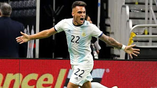 Highlight: Martinez Hat-trick Sees Argentina Thump Mexico