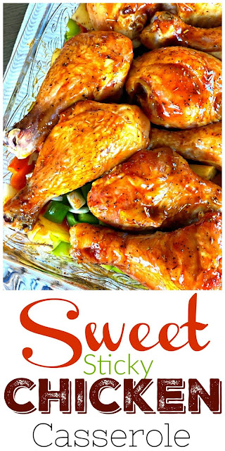 Sweet and Sticky Chicken Casserole