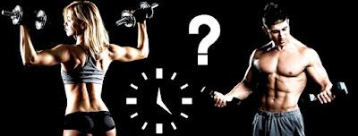 Levantar pesas hora gym