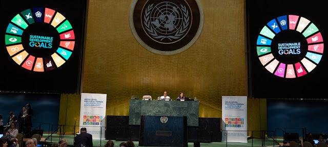 Inauguaración de la reunión de alto nivel del Consejo Económico y Social, 2019.ONU/Eskinder Debebe