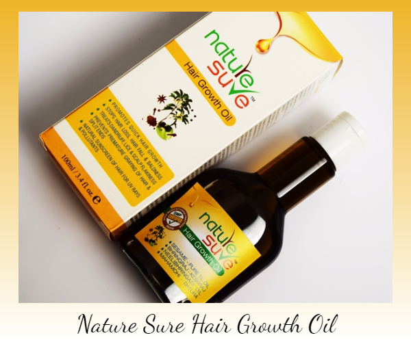 Nature Sure Hair Growth Oil review