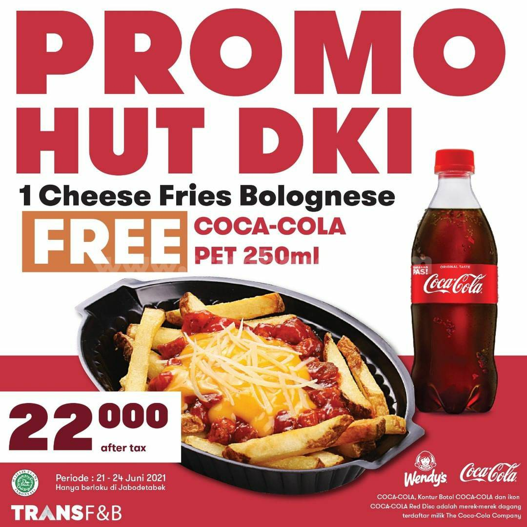 WENDYS Promo HUT DKI JAKARTA