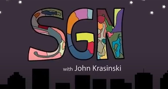 John Krasinski revela porque ha vendido Some Good News su canal de youtube de cuarentena