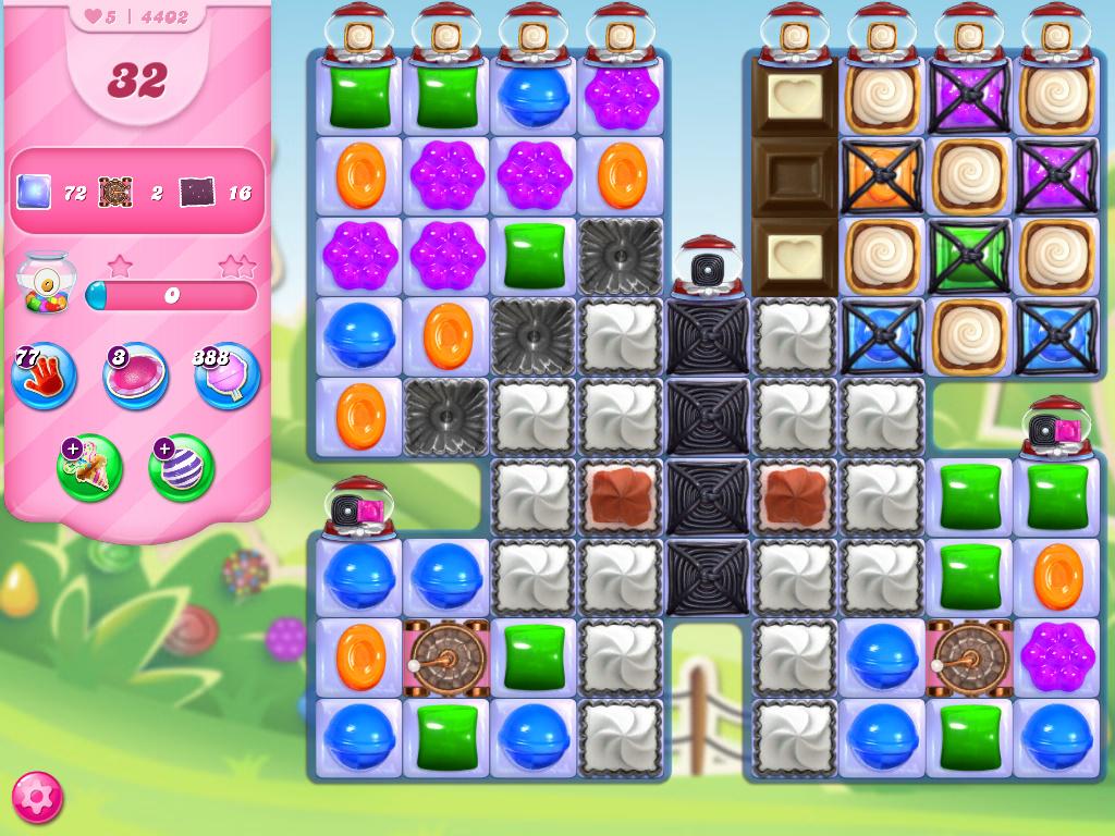 Candy Crush Saga level 4402