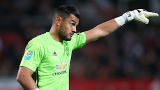 Manchester United out of favor keeper Romero interested MLS move