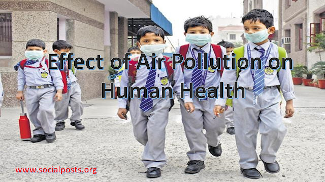 Effects of Air Pollution on Human Health in Points