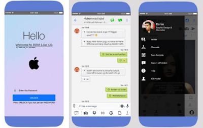 BBM Mod Like iOS V3.3.1.24 Leak Version Apk