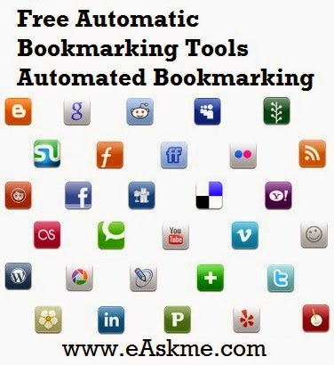 Free Automatic Bookmarking Tools Automated Bookmarking : eAskme