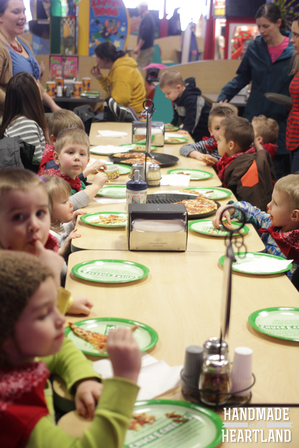 Chuck-e-Cheese's Toy Story Birthday Party