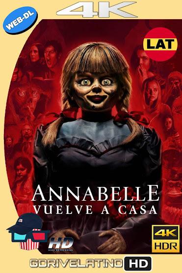 Annabelle 3: Vuelve a Casa (2019) WEB-DL 4K HDR Latino-Ingles MKV